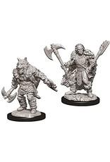 Wiz Kids D&D NMU: W9 Male Half-Orc Barbarian