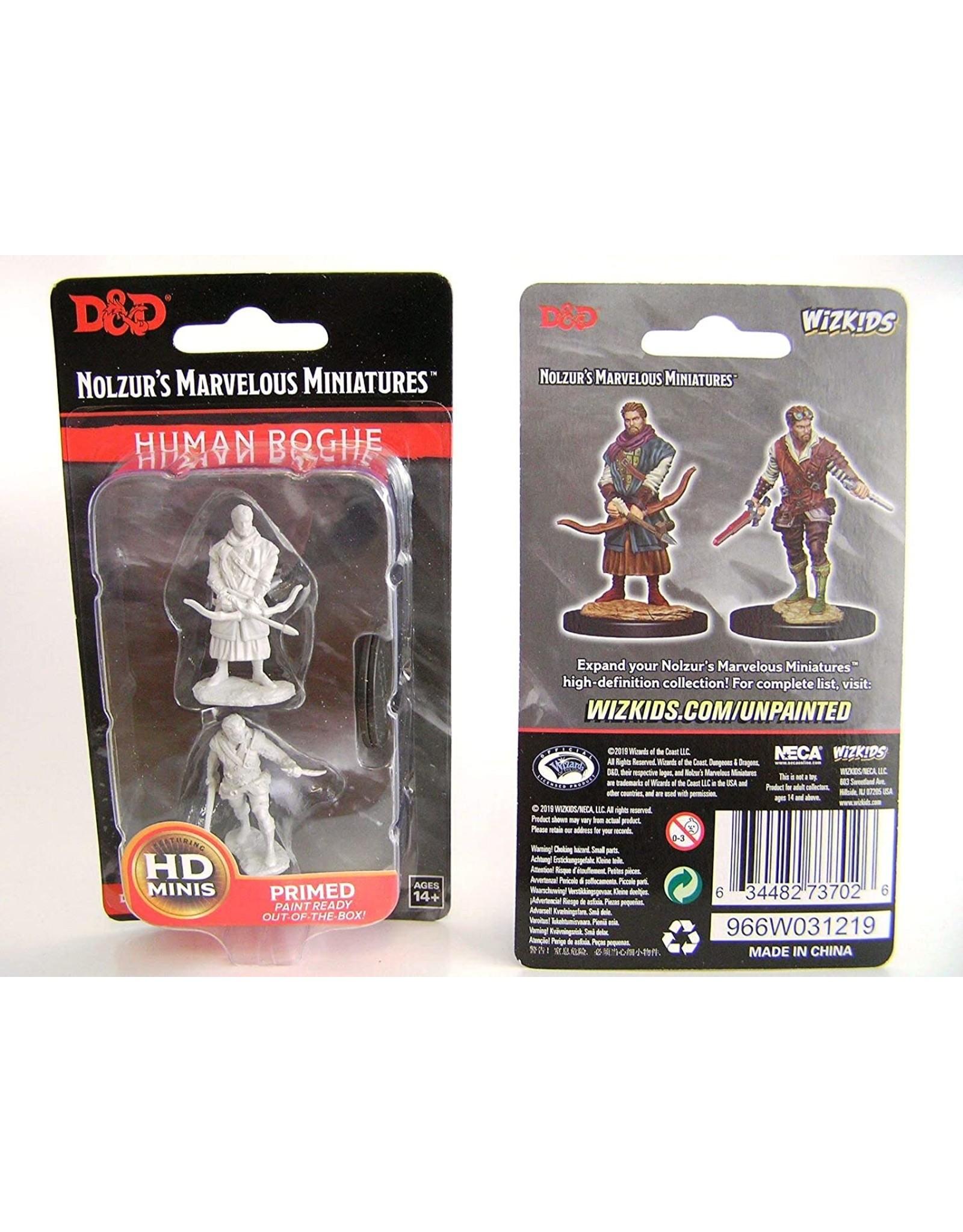 Wiz Kids D&D NMU: W9 Male Human Rogue