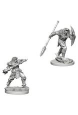 Wiz Kids WZK D&D NMU: Dragonborn Male Fighter Spear