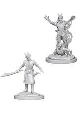 Wiz Kids D&D NMU: Male Tiefling Warlock W6