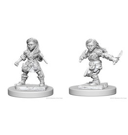 Wiz Kids D&D NMU: Halfling Female Rogue