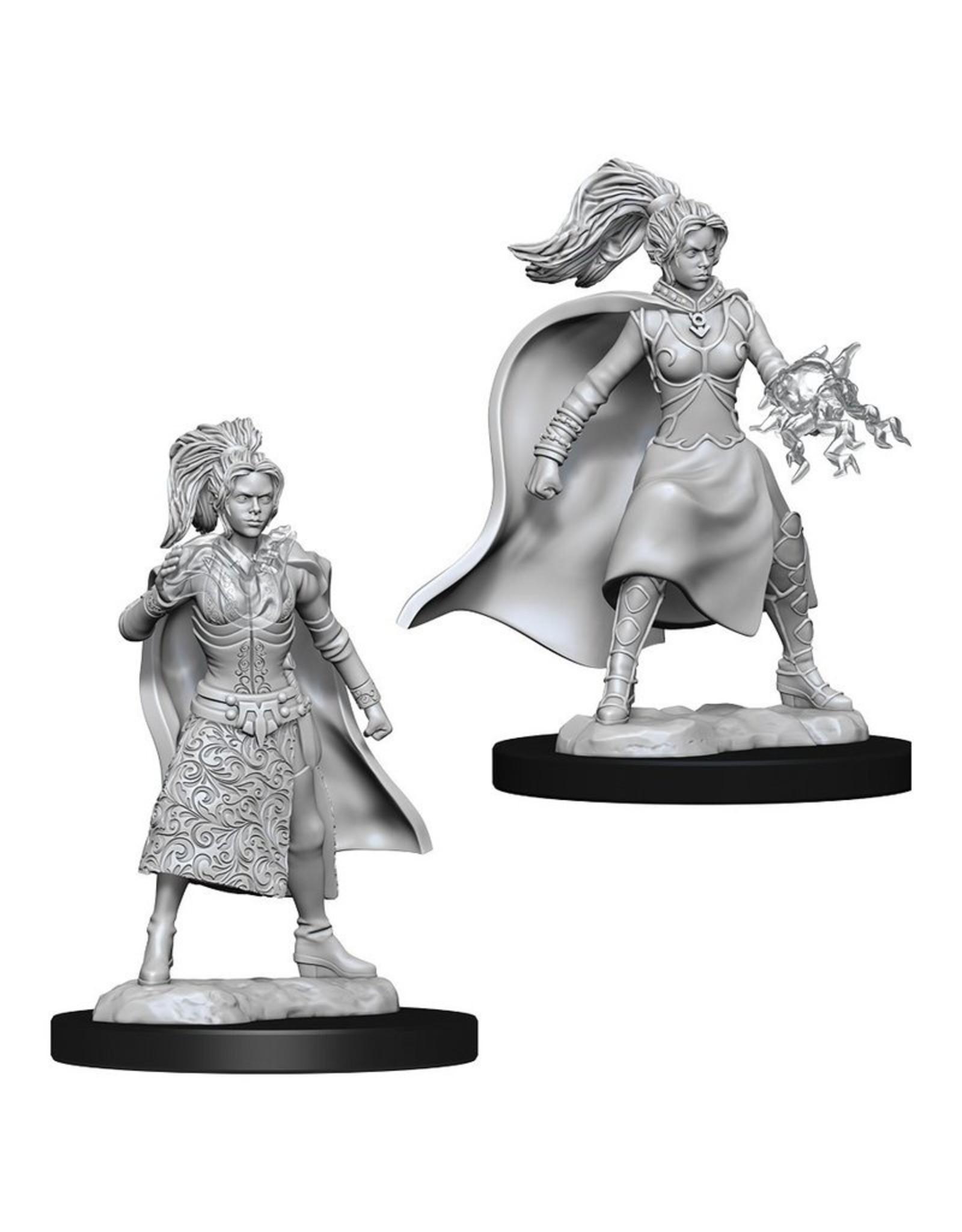 Wiz Kids D&D NMU: W10 Female Human Sorcerer