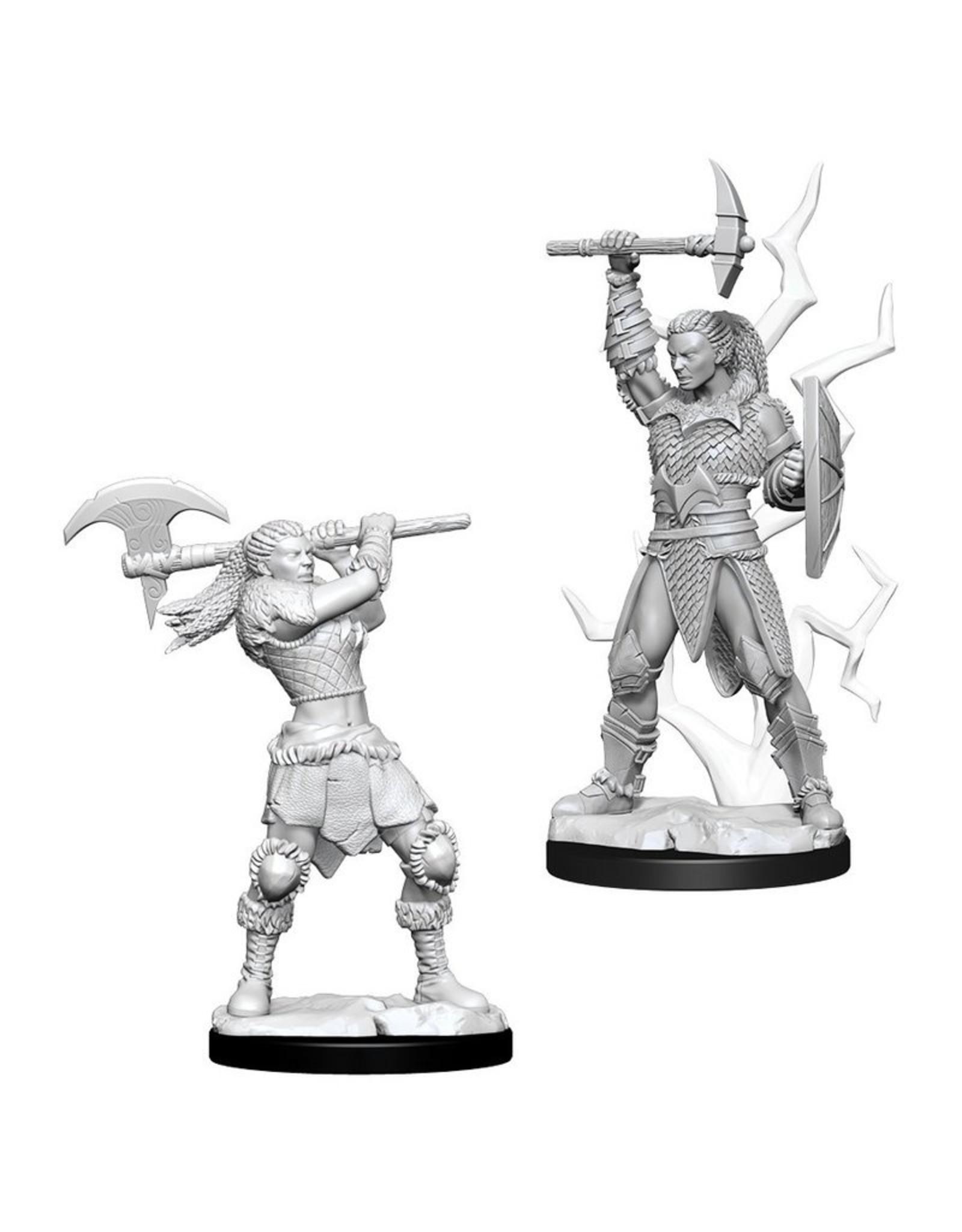 Wiz Kids D&D NMU: W10 Female Goliath Barbarian