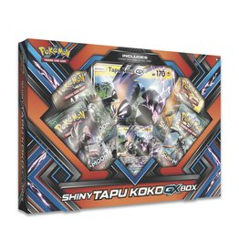 Pokemon PKM: Shiny Tapu Koko-GX Box