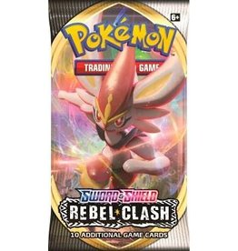 Pokemon Pokemon TCG: Sword & Shield - Rebel Clash Booster