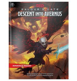 Dungeons & Dragons D&D 5: Descent into Avernus (standard cover)