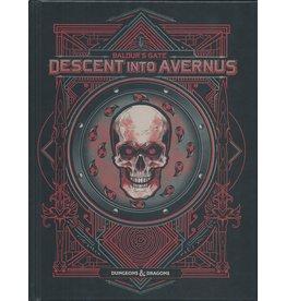 Dungeons & Dragons D&D 5 Descent into Avernus (Alternate Cover)