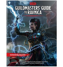 Dungeons & Dragons D&D 5E: Guildmasters` Guide to Ravnica