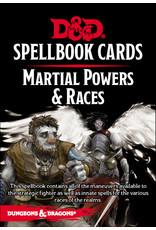 D&D Spellbook Cards: Martial & Race Deck