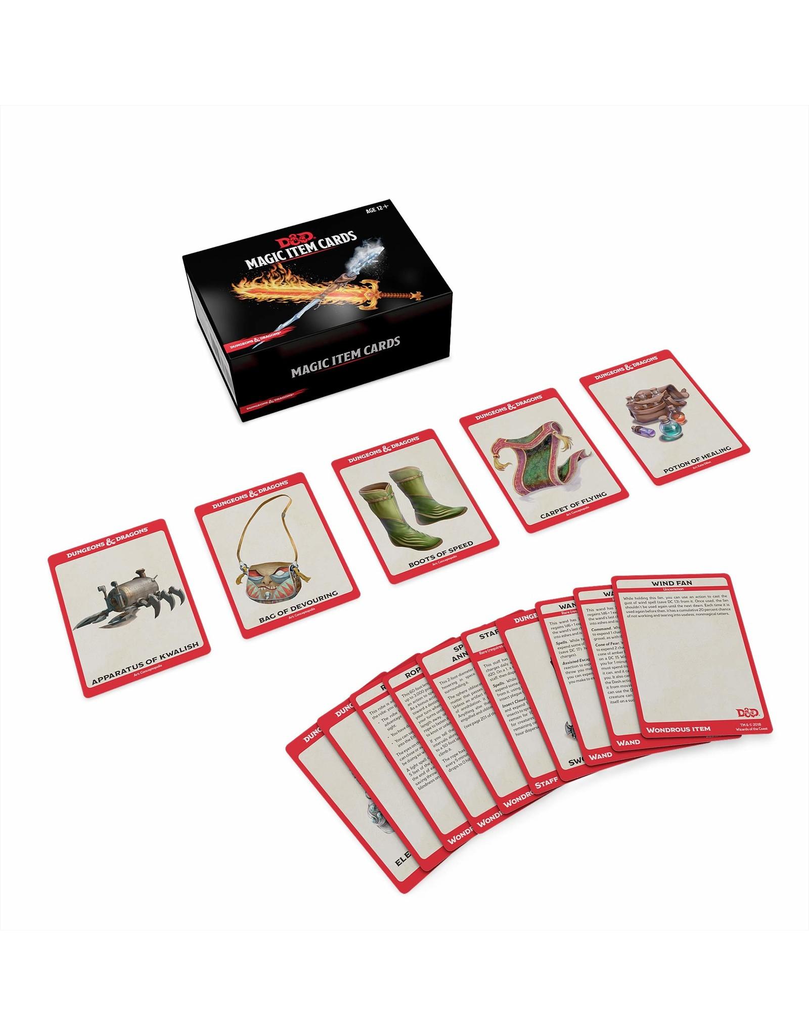 D&D Magic Item Cards