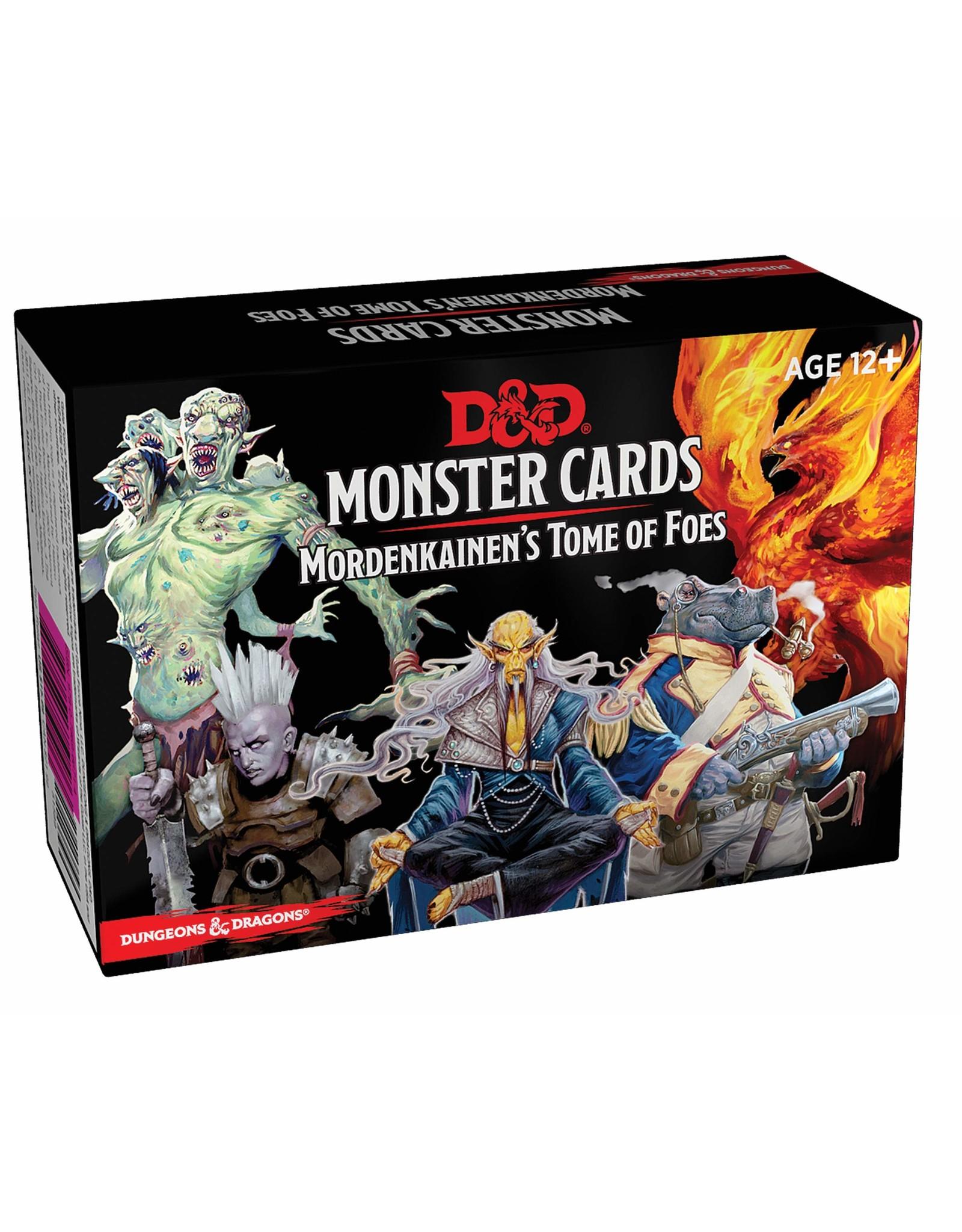 D&D Mordenkainens Monster Cards