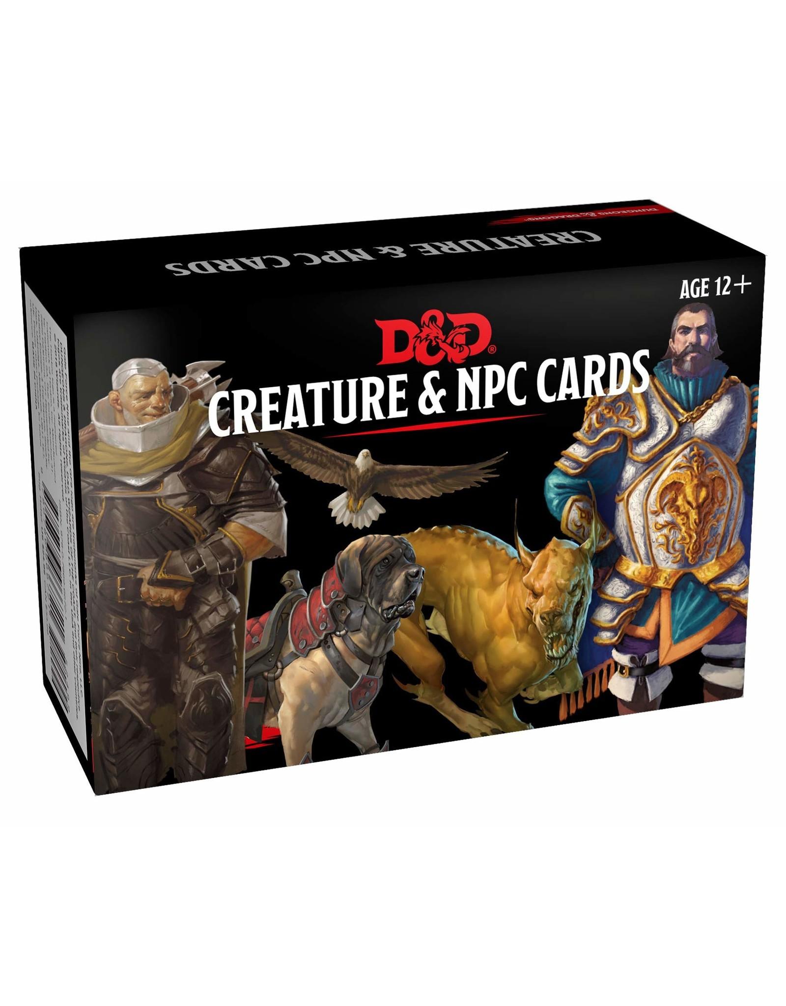 D&D Cards: Creature and NPC