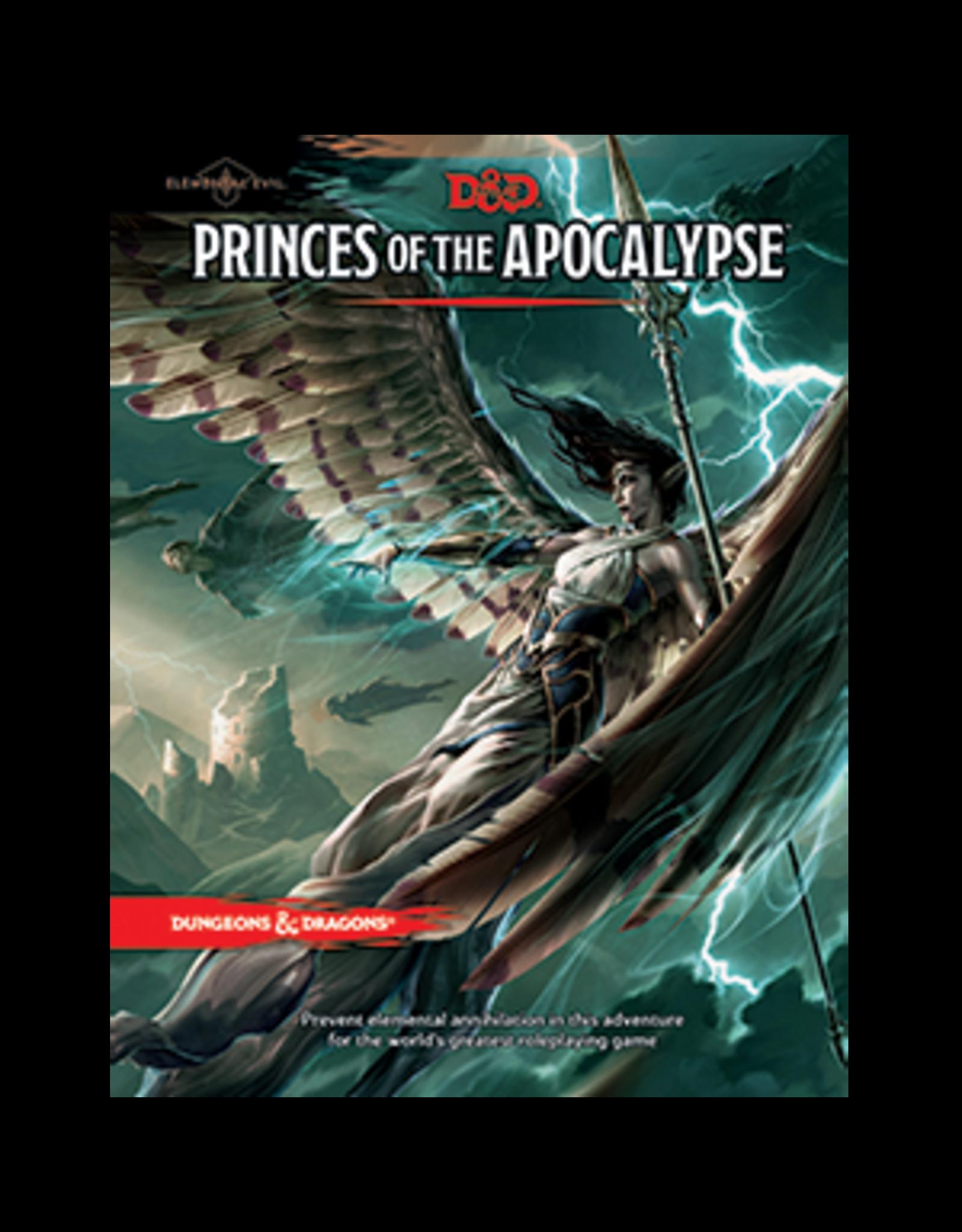 Dungeons & Dragons D&D 5E Princes of the Apocalypse