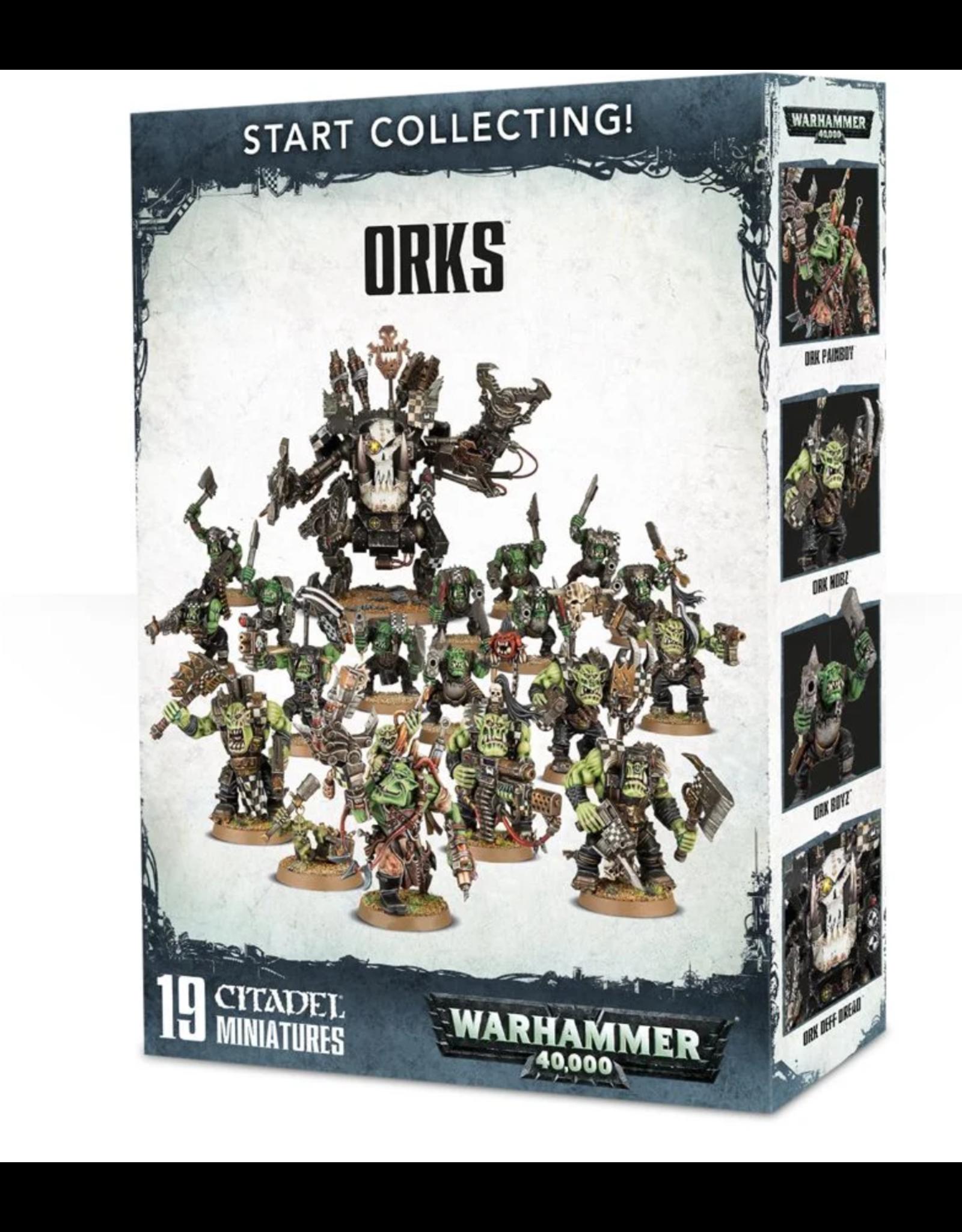 Warhammer 40K Start Collecting! Orks
