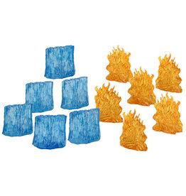 Wiz Kids D&D: Spell Effects: Wall of Fire & Ice