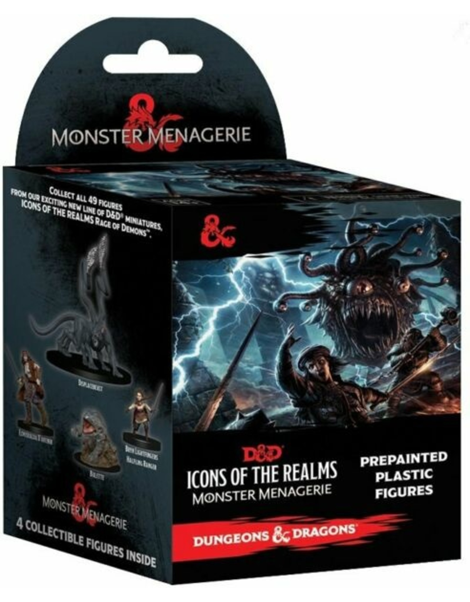 Wiz Kids D&D Fantasy Miniatures: ICR Set 4 Monster Menagerie