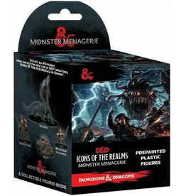 Wiz Kids Dungeons and Dragons Fantasy Miniatures: Icons of the Realms Set 4 Monster Menagerie