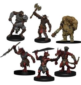 Wiz Kids Dungeons & Dragons Fantasy Miniatures: Icons of the Realms Monster Pack Cave Defenders