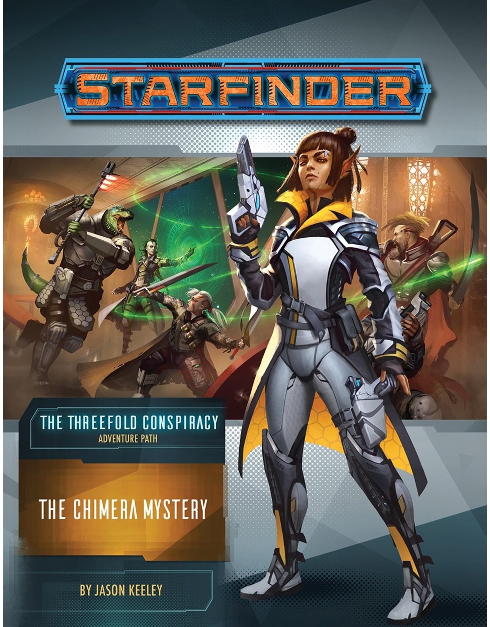 Paizo Publishing Starfinder RPG: AP: The Chimera Mystery (TC 1/6)