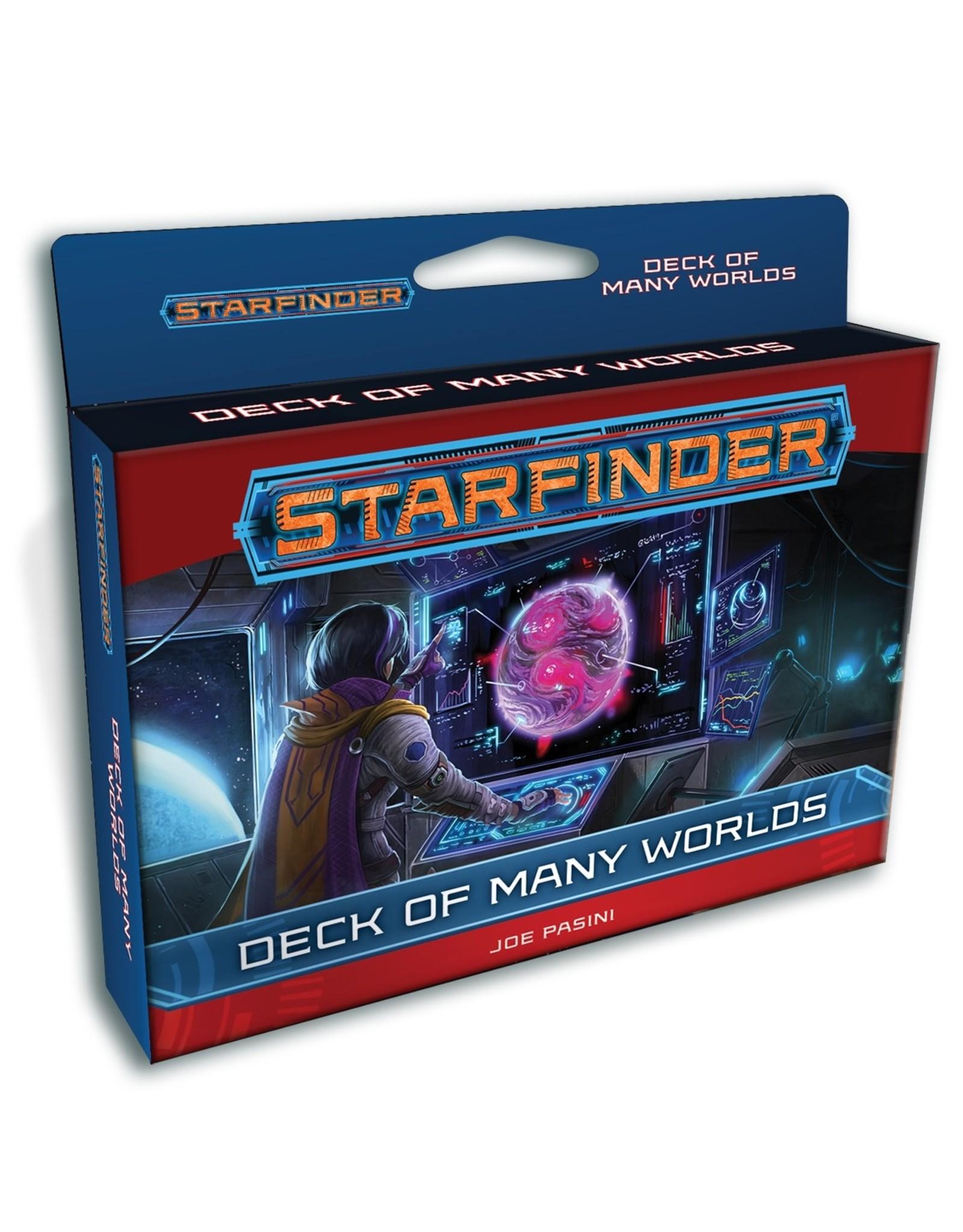 Paizo Publishing Starfinder RPG: Deck of Many Worlds