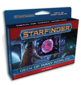 Paizo Publishing Starfinder RPG: Deck of Many Worlds