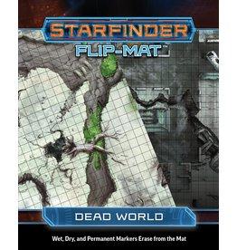 Paizo Publishing Starfinder RPG: Flip-Mat: Dead World