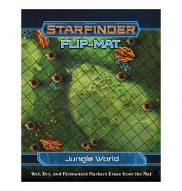 Paizo Publishing Starfinder RPG: Flip-Mat: Starship: Jungle World