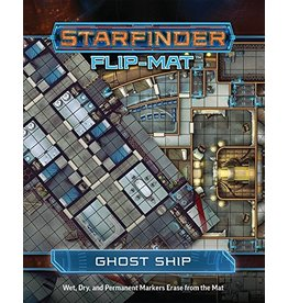 Paizo Publishing Starfinder RPG: Flip-Mat: Starship: Ghost Ship