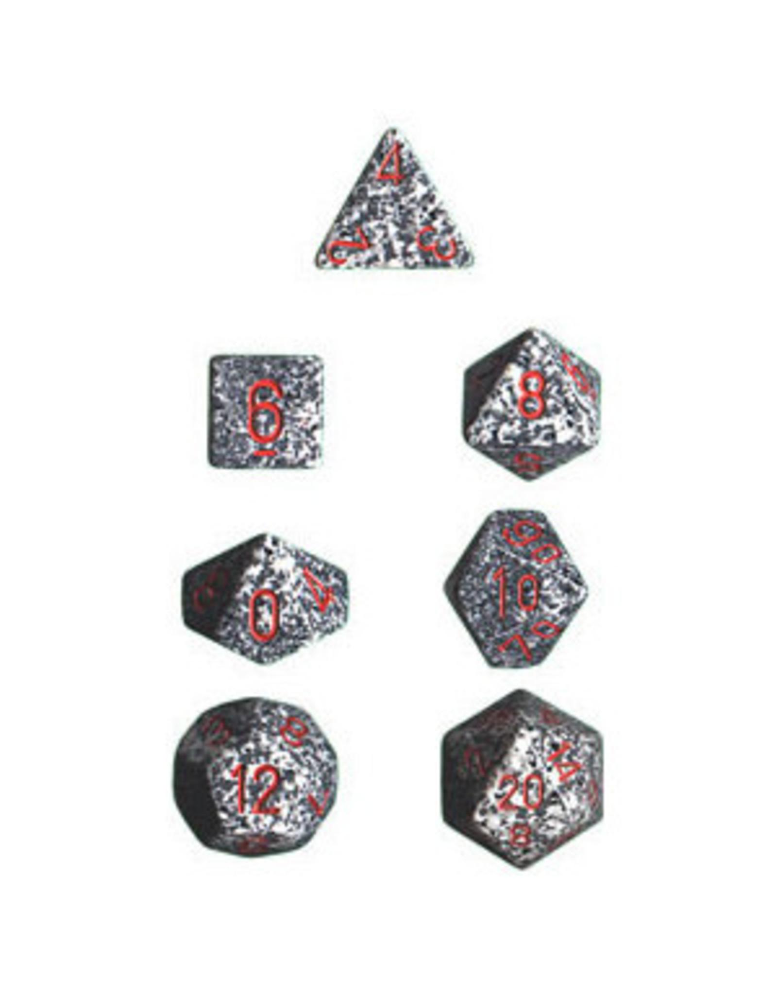 Chessex 7-Set Polyhedral Granite