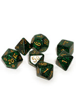 Chessex 7-Set Polyhedral Golden Recon