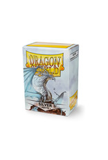 Dragon Shield: (100) Matte Silver
