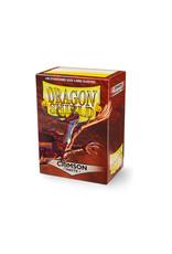 Dragon Shield: (100) Matte Crimson
