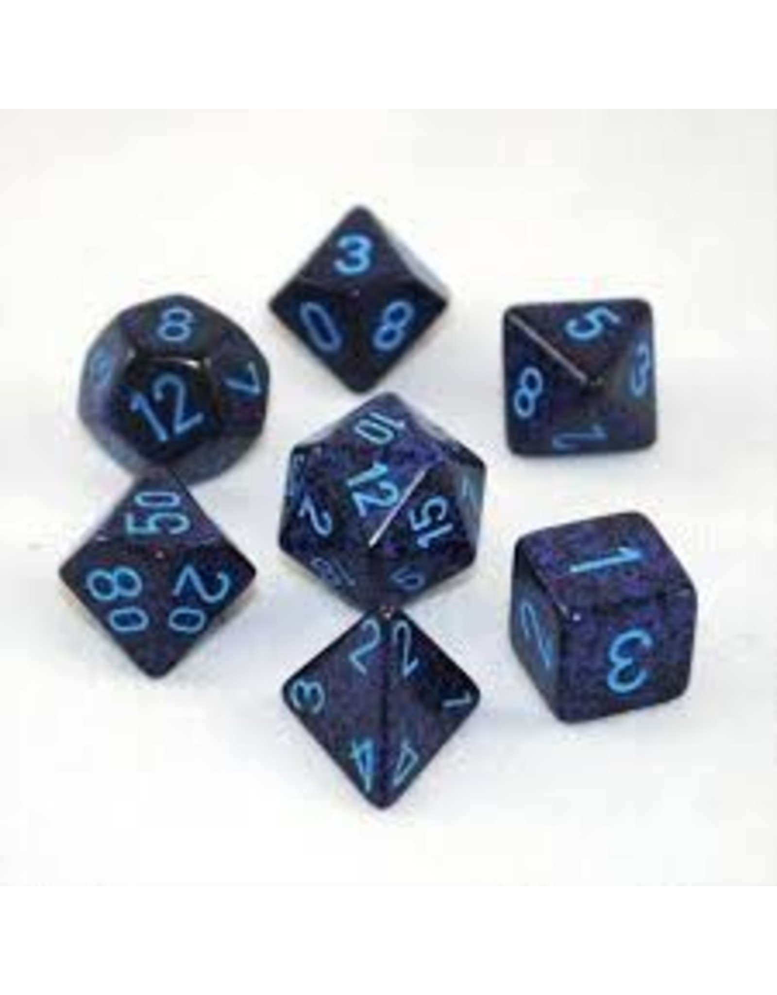 Chessex 7-Set Polyhedral Cobalt