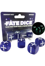 Evil Hat Fate Dice: Midnight Dice