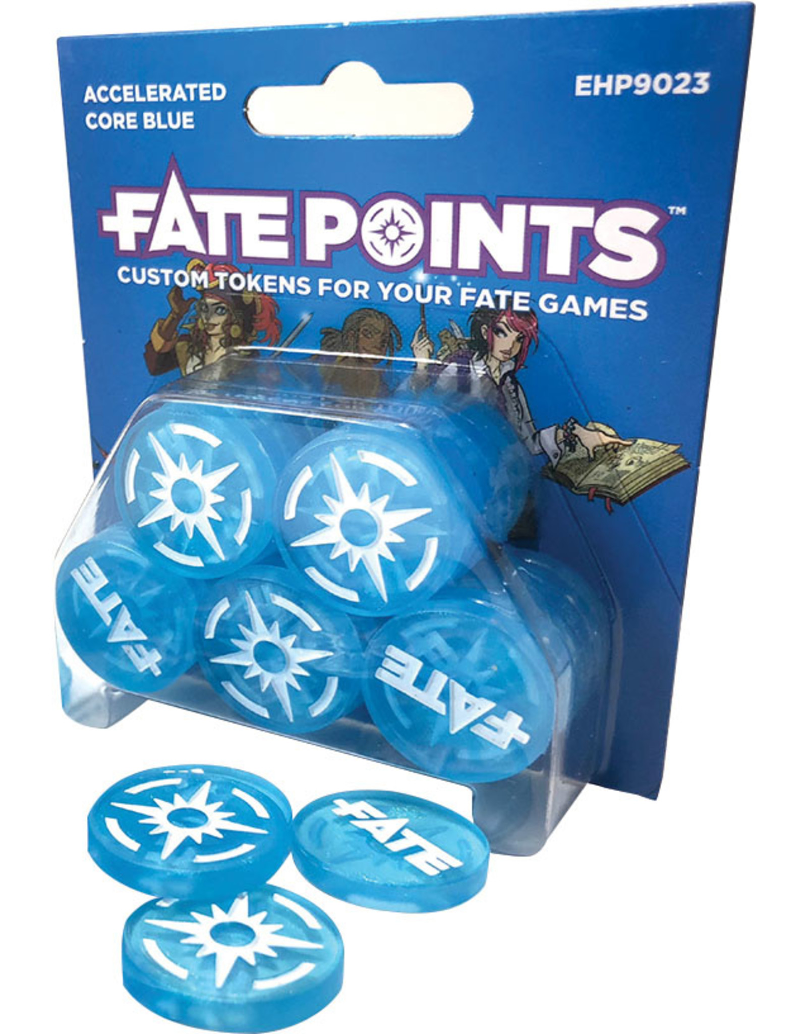 Dice Fate Points: Accelerated Core Blue