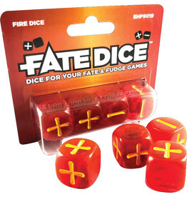 Evil Hat Fate Dice: Fire Dice