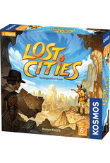 Thames & Kosmos Lost Cities: The Card Game with 6th Expedition