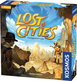 Thames & Kosmos Lost Cities: The Card Game w/ 6th Expedition