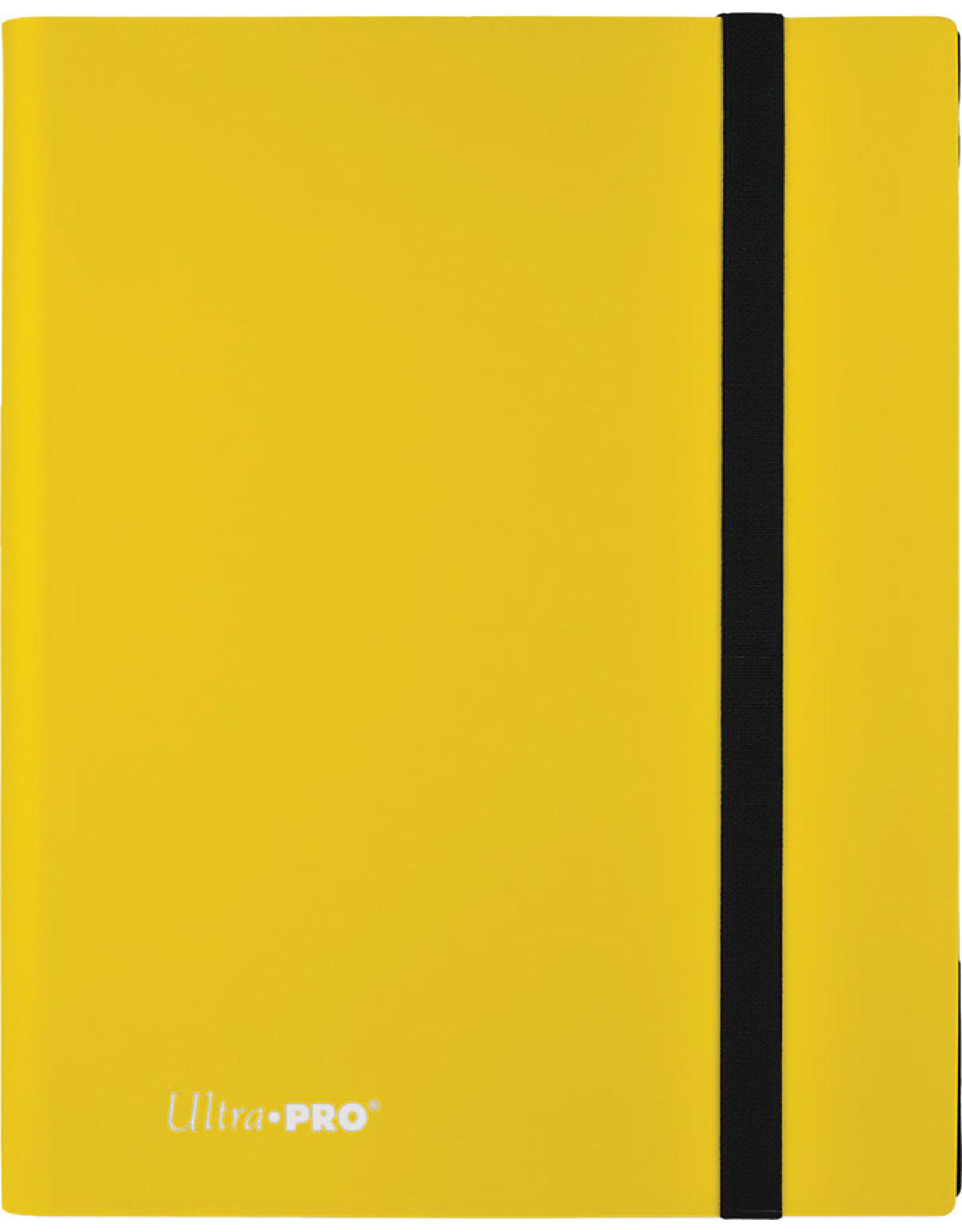 Ultra Pro Binder: 9pkt PRO: Eclipse Lemon YE