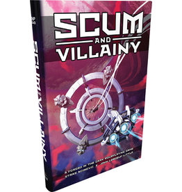 Role Playing Scum and Villainy (Blades in the Dark System) Hardcover