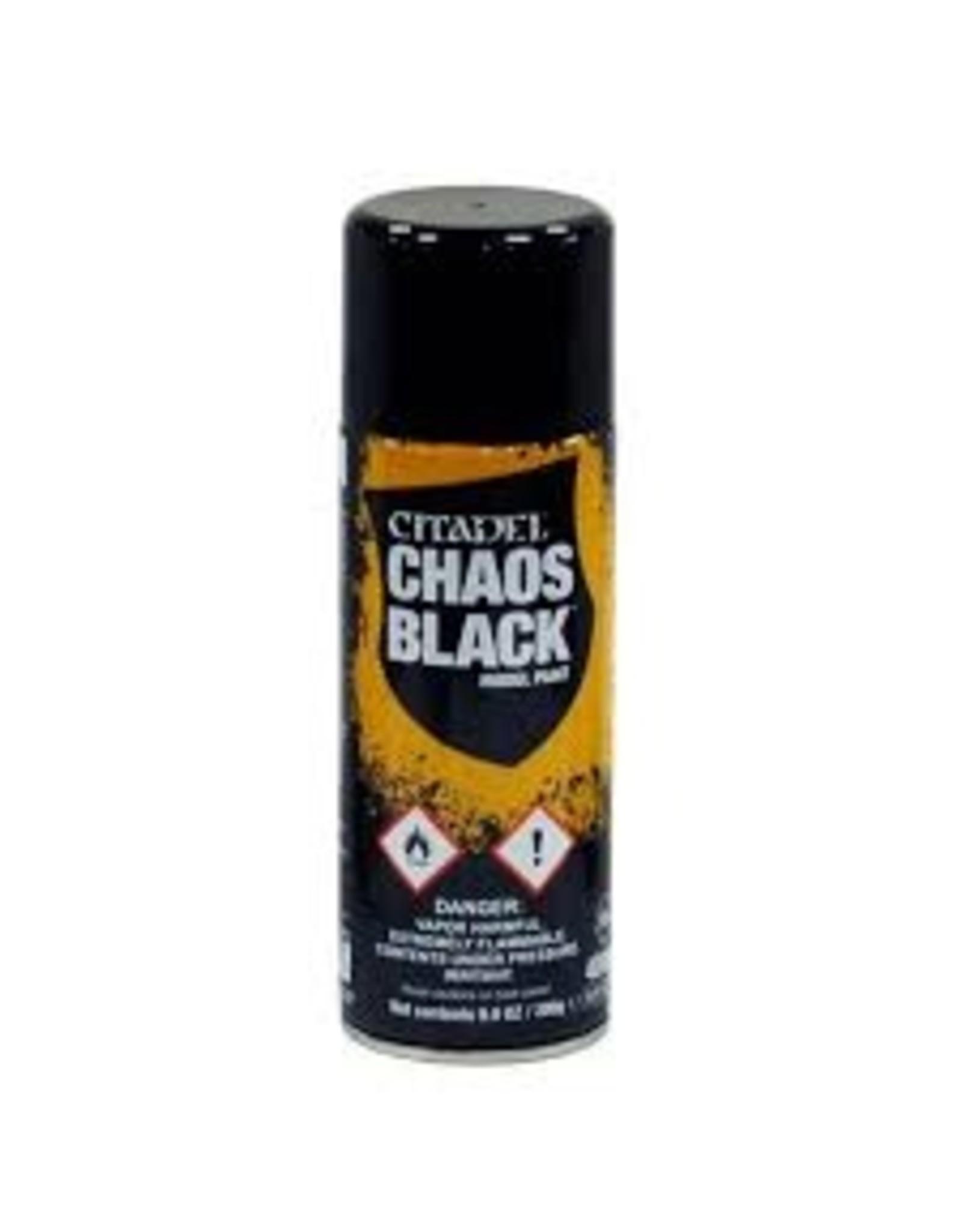 Citadel Citadel Paints: Spray - Chaos Black