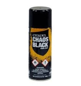Citadel Citadel Paints: Spray - Chaos Black