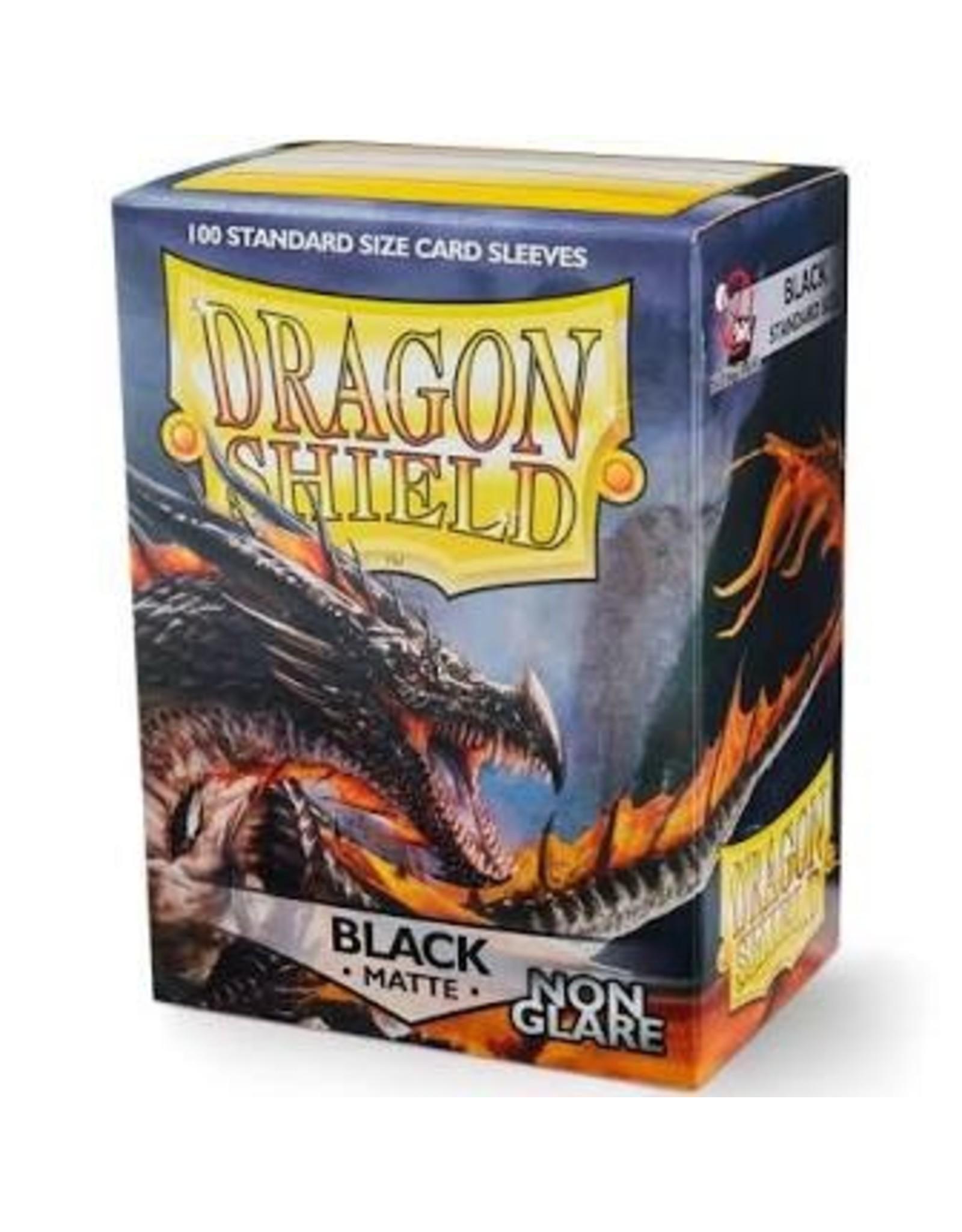 Dragon Shield: (100) Non Glare Matte Black