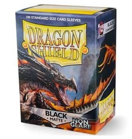 Arcane Tinmen Dragon Shields: (100) Non Glare Matte Black
