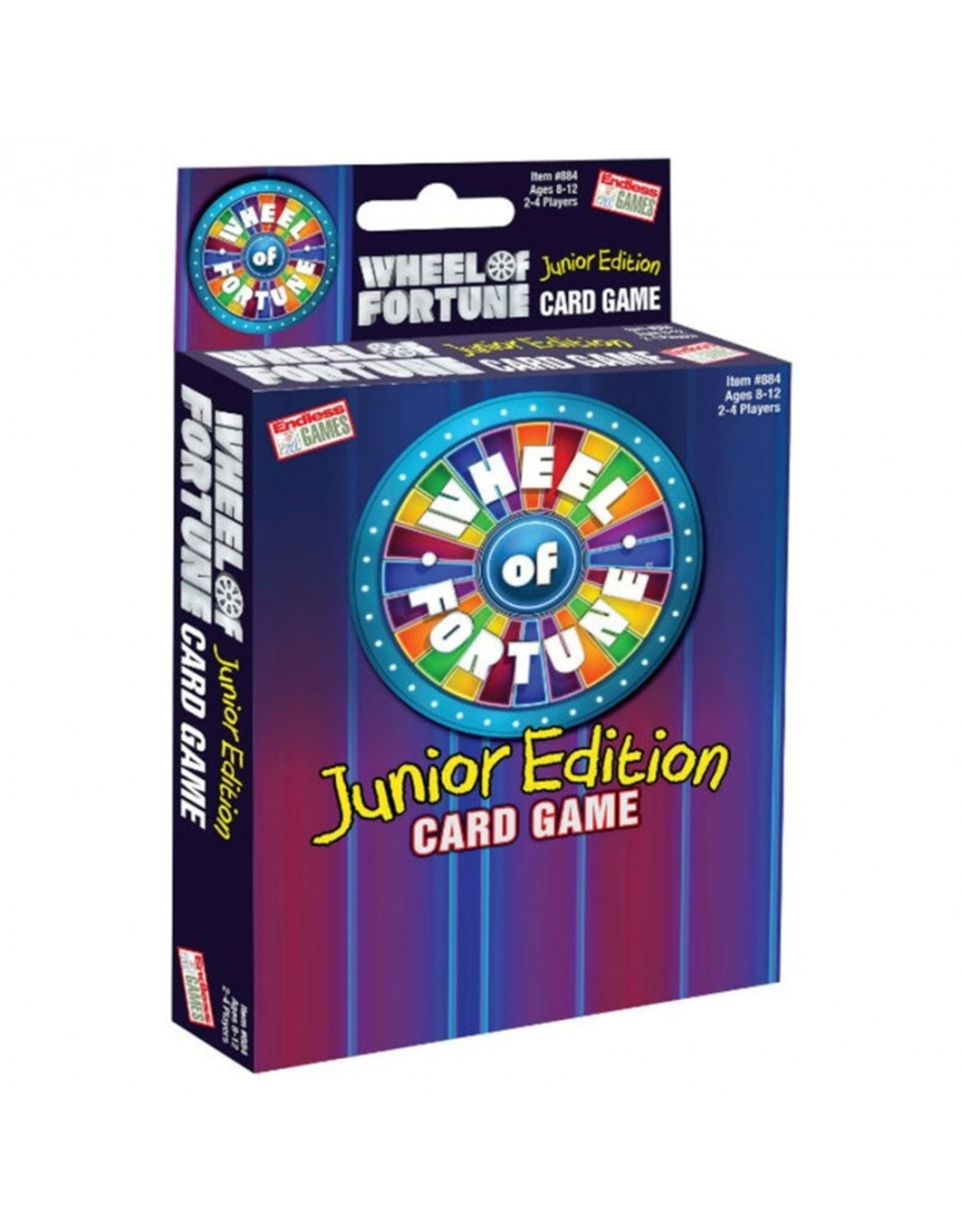 Endless Games Wheel Of Fortune Card Game Jr.