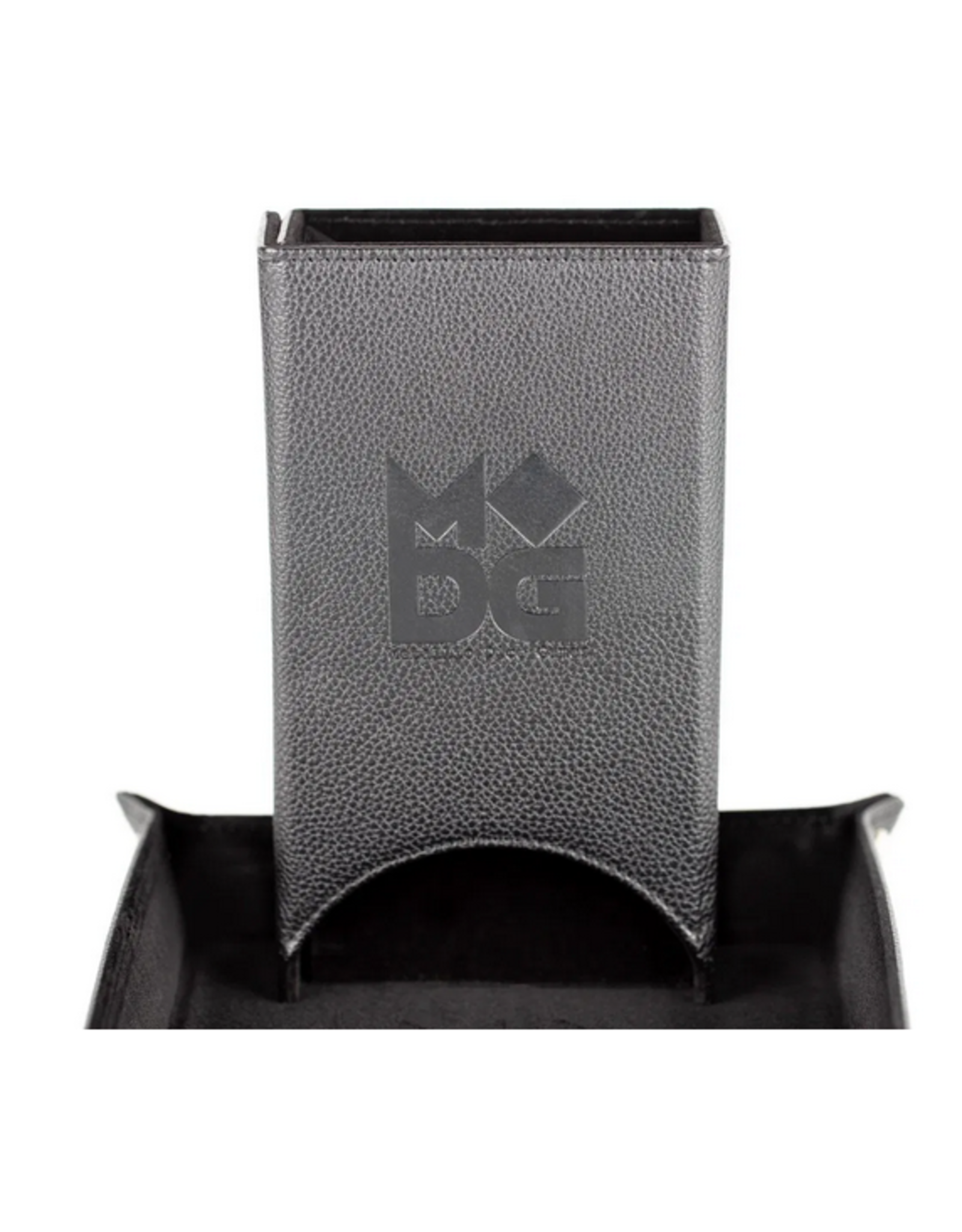 Dice Dice Tower: Fold Up Leather BK