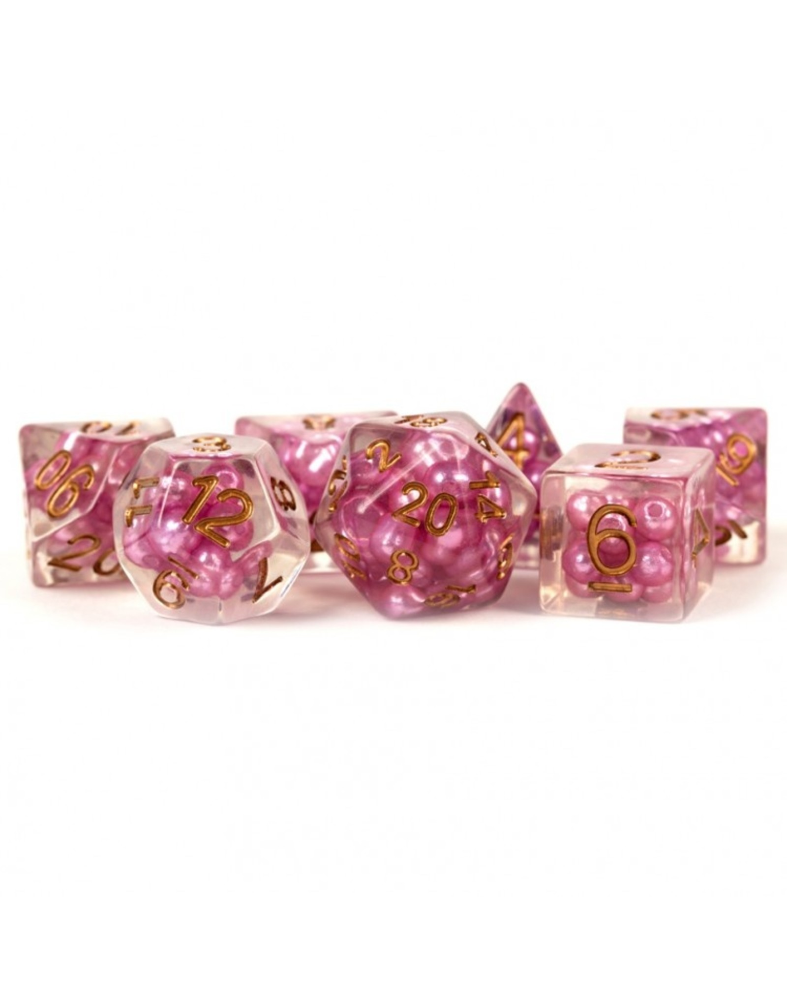 Dice 7-Set Pearl PKcp