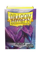 Dragon Shield: Matte: Non-Glare Purple (100)