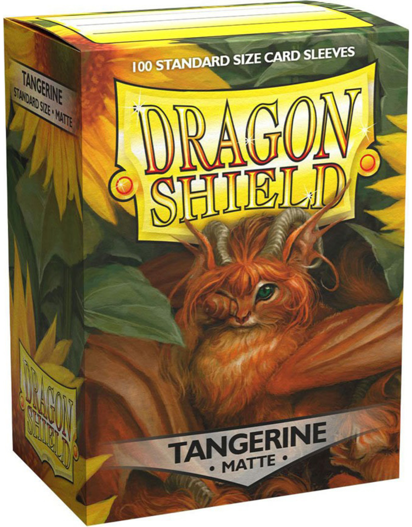 Dragon Shield: (100) Matte Tangerine