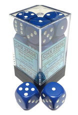 Chessex Opaque: 16mm D6 Blue With Whit
